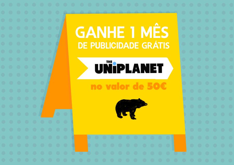 Passatempo –  Ganhe um Mês de Publicidade Grátis no UniPlanet!