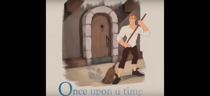 Como seria a história da Cinderela se fosse um homem? [vídeo]