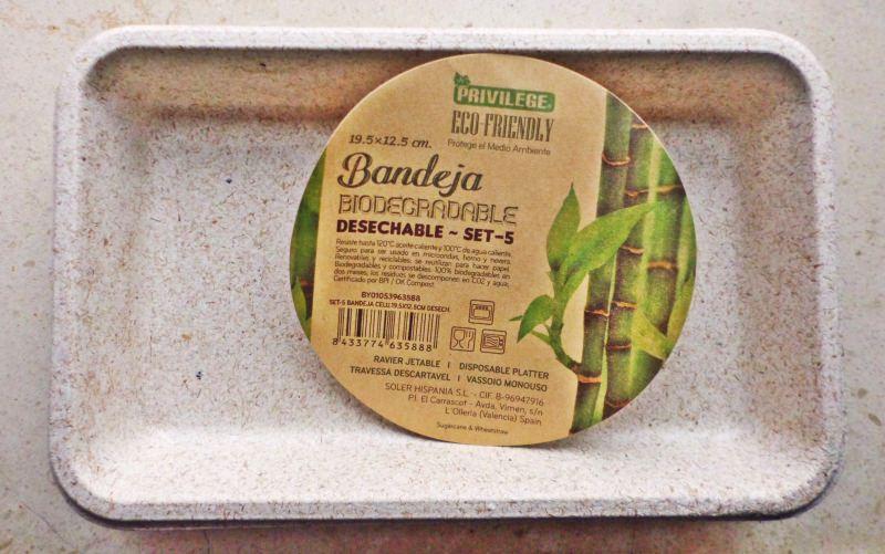 Review: Pratos descartáveis biodegradáveis
