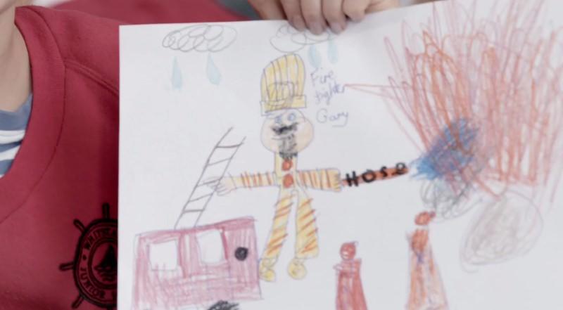 O que acontece quando se pede a crianças para desenharem 3 profissões: bombeiro, cirurgião e piloto da Força Aérea?