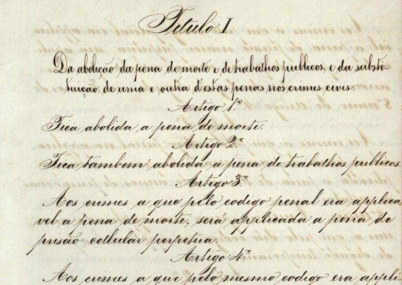 Há 150 anos, Portugal foi pioneiro na abolição da pena de morte