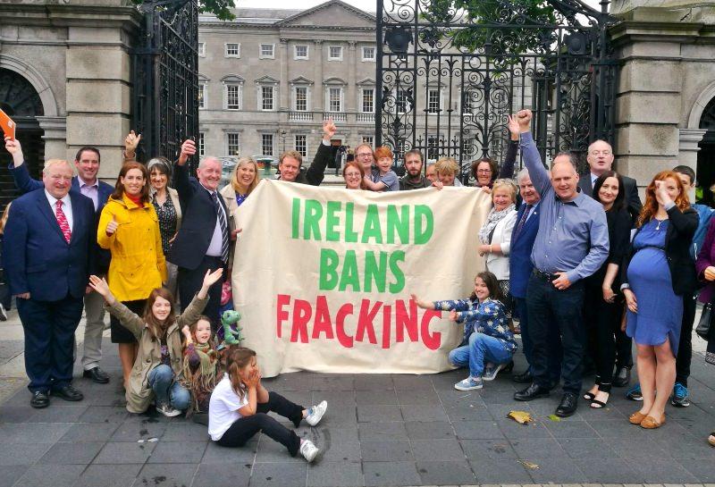 Irlanda junta-se à França, Alemanha e Bulgária e proíbe o fracking