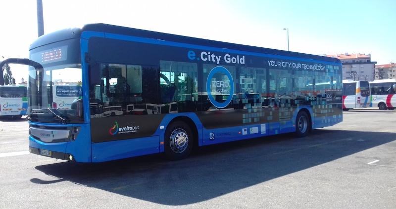 Transdev testa autocarro elétrico na rede AveiroBus