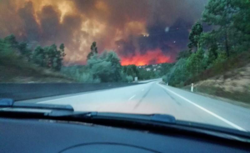 Os assustadores incêndios do dia 15 de outubro vividos de perto [relato]