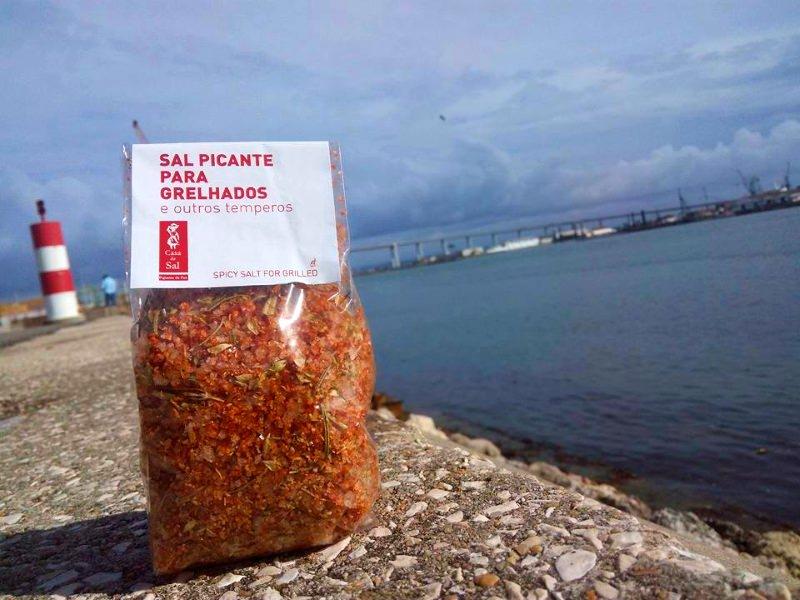Produtos experimentados: Flor de sal e sal picante – Casa do Sal