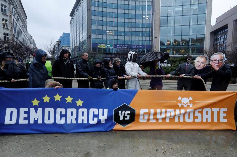 Glifosato foi autorizado por mais 5 anos na UE