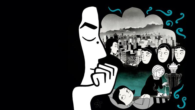 Persépolis: o livro e filme de Marjane Satrapi