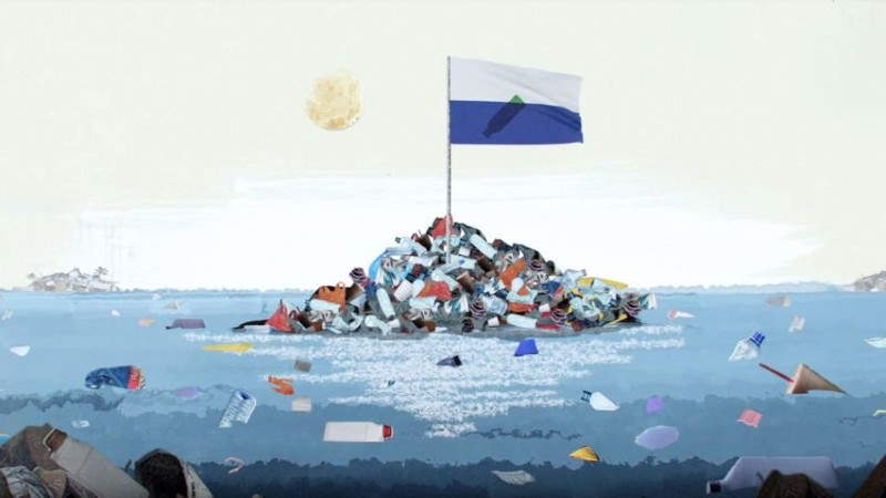 Petição para tornar a Grande Ilha de Lixo do Pacífico num país reúne 200 mil assinaturas
