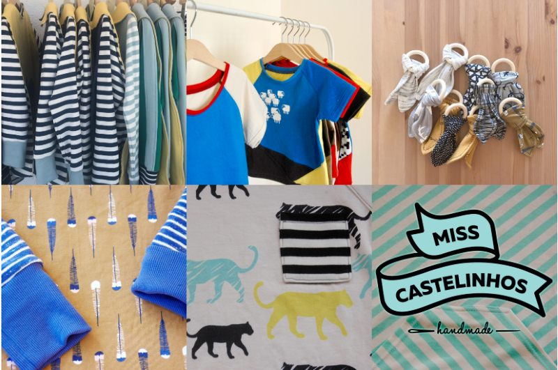 Miss Castelinhos, uma marca de roupa infantil que luta contra o desperdício têxtil em Portugal