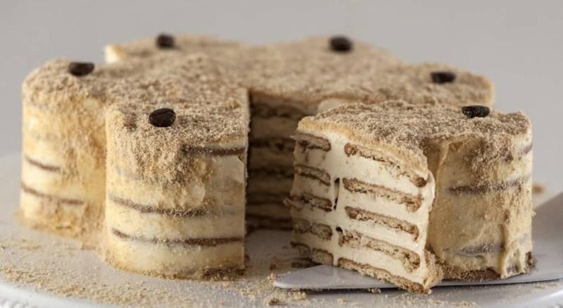 5 receitas de bolo de bolacha vegan, sem lactose