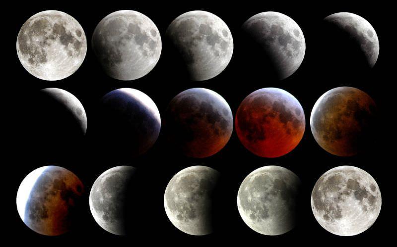 Esta noite: uma super lua, uma lua azul e um eclipse