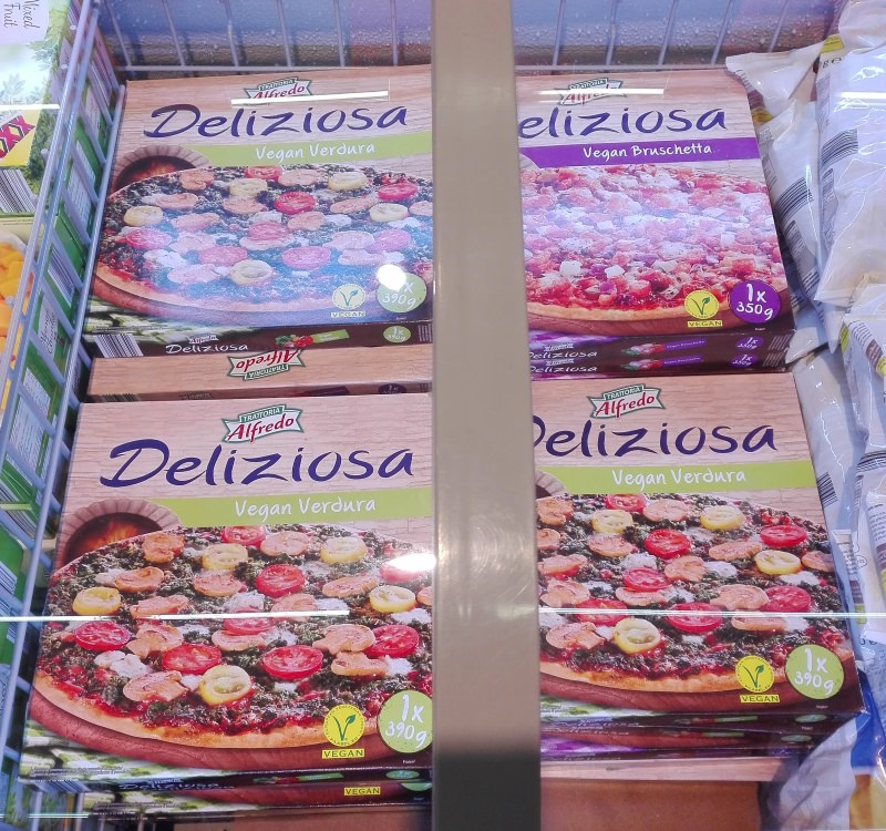 Produtos experimentados: Pizzas vegans – Lidl