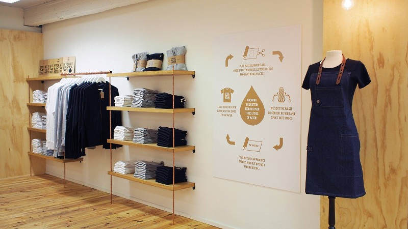 Pure Waste, a Finnish brand that makes clothes from 100% recycled cotton