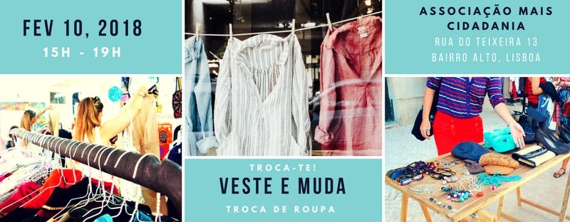 Troca-te, um mercado de troca de roupa no Bairro Alto
