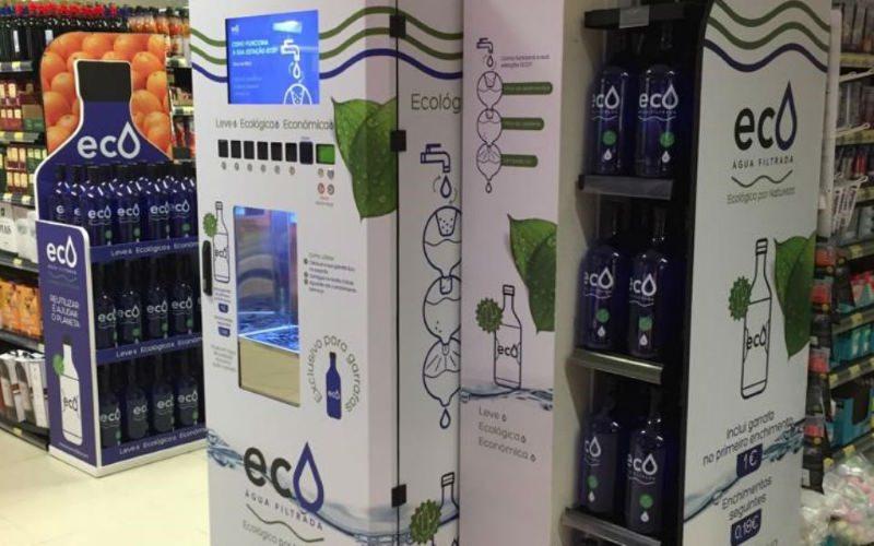 Pingo Doce agora tem serviço de enchimento de garrafas de água