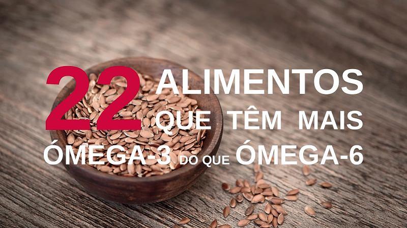 22 alimentos de origem vegetal que têm mais ómega-3 do que ómega-6