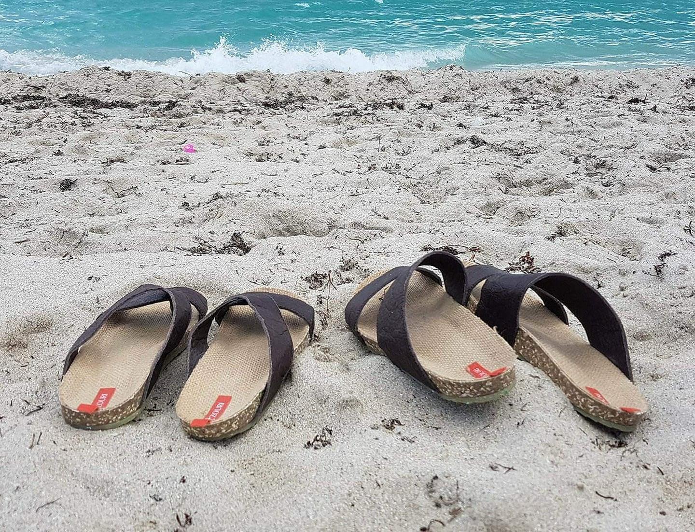 Zouri, as novas sandálias portuguesas feitas com plástico recolhido na praia