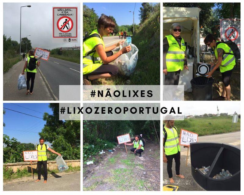 Duas pessoas limparam em dois dias o lixo deixado pelos peregrinos a caminho de Fátima