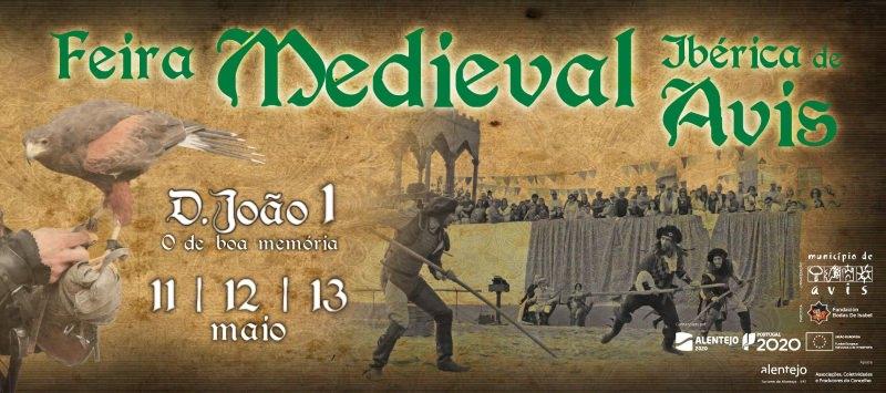 Feira Medieval Ibérica de Avis 2018 com pratos compostáveis de farelo de trigo