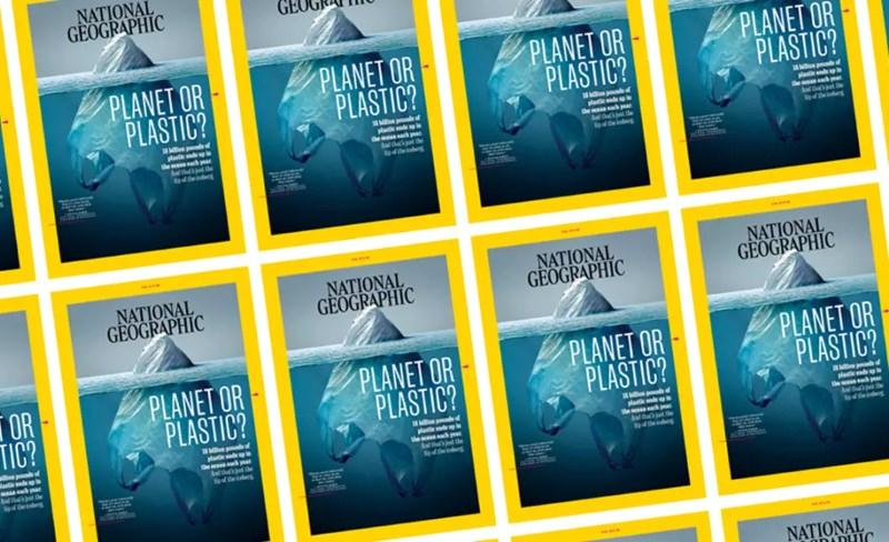 National Geographic deixa de usar plástico para envolver as suas revistas nos EUA, Reino Unido e Índia