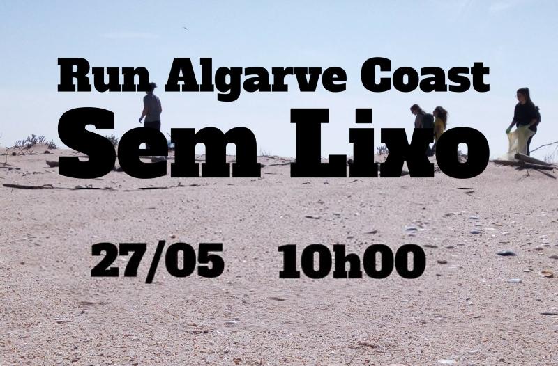 Run Algarve Coast Sem Lixo –  Mega Limpeza de Praia no Algarve, 27 de maio