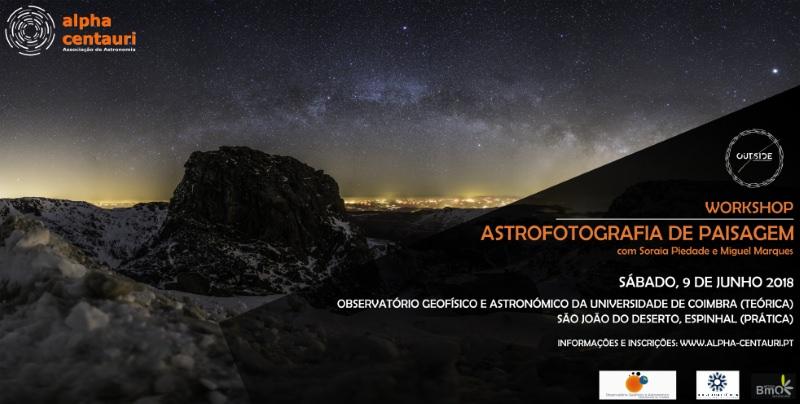 Sabe o que é Astrofotografia? Aprenda neste workshop