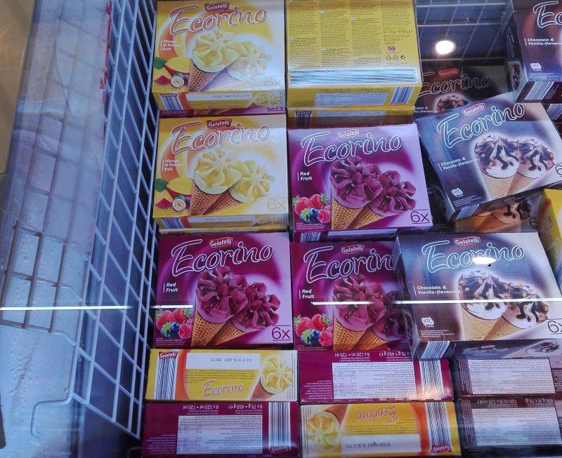 Review: Gelados vegans de manga e frutos vermelhos Ecorino da Gelatelli (Lidl)
