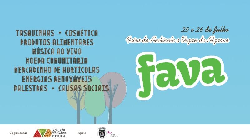 Vem aí a FAVA! A Feira do Ambiente e Vegan do Algarve