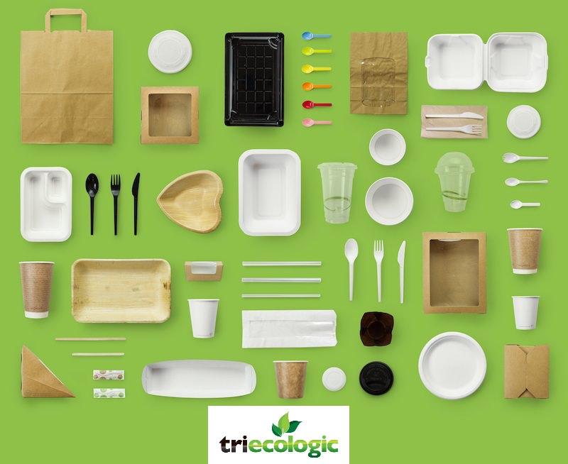 Triecologic: embalagens compostáveis e mais ecológicas para take-away