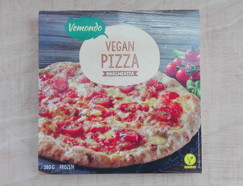 Produtos experimentados: Pizza vegan Margherita – Vemondo (Lidl)