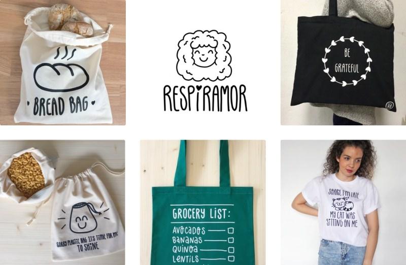 Respiramor: uma marca portuguesa que espalha mensagens positivas e muitos sorrisos