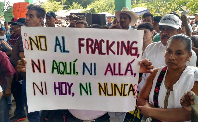 Novo Presidente do México promete pôr fim à prática de fracking no país