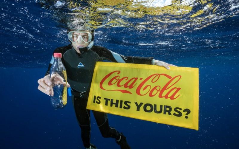 Coca-Cola, Pepsi e Nestlé são as marcas que mais poluem os oceanos