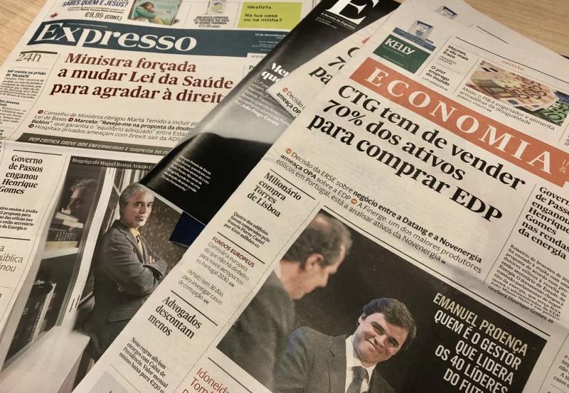 Jornal Expresso vai substituir saco de plástico por papel em 2019
