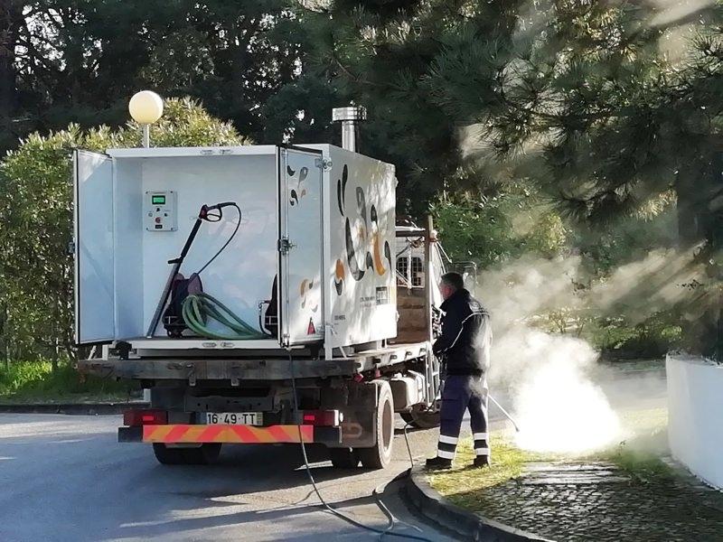 Setúbal adquire equipamento de monda térmica para evitar uso de glifosato