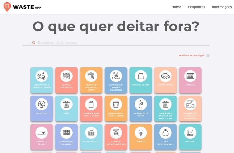 WasteApp quer pôr portugueses a reciclar mais e melhor