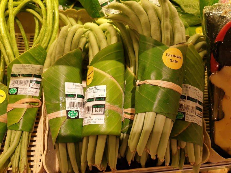 Emabalagens de folha de bananeira