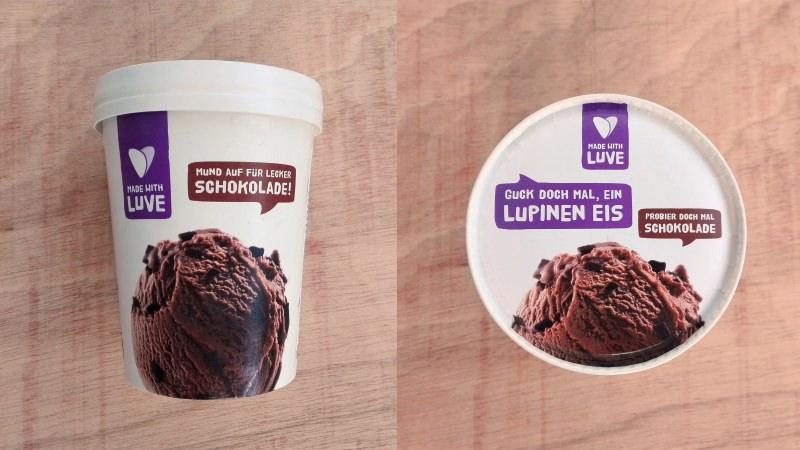 Produtos experimentados: Gelados vegans de chocolate Made with Luve (Aldi)
