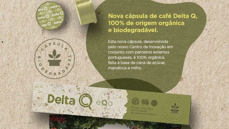 Delta lança cápsulas de café orgânicas, biodegradáveis e sem plástico
