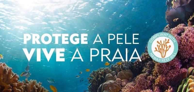 Protetores Nivea sem filtros UV que prejudicam recifes de corais
