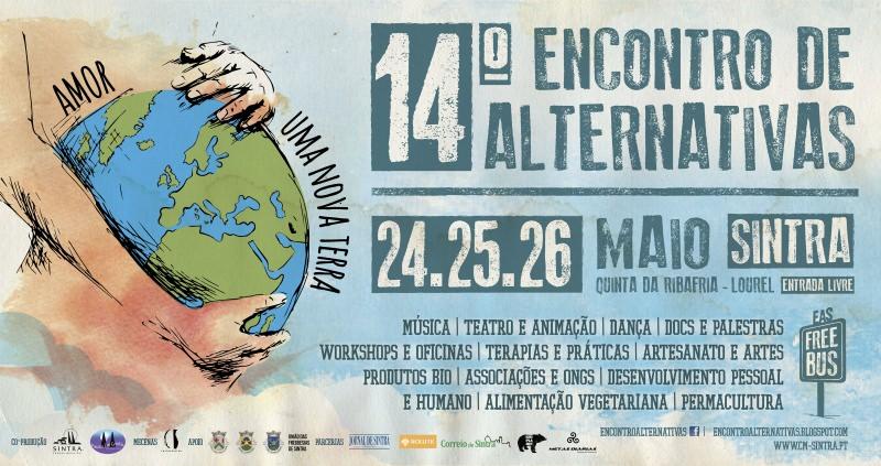 14º Encontro de Alternativas em Sintra – 24 a 26 de maio