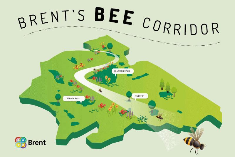 Corredor para as abelhas
