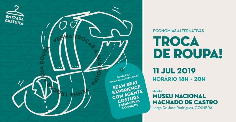 """Vem aí mais uma edição da """"Troca de Roupa!"""" em Coimbra"""