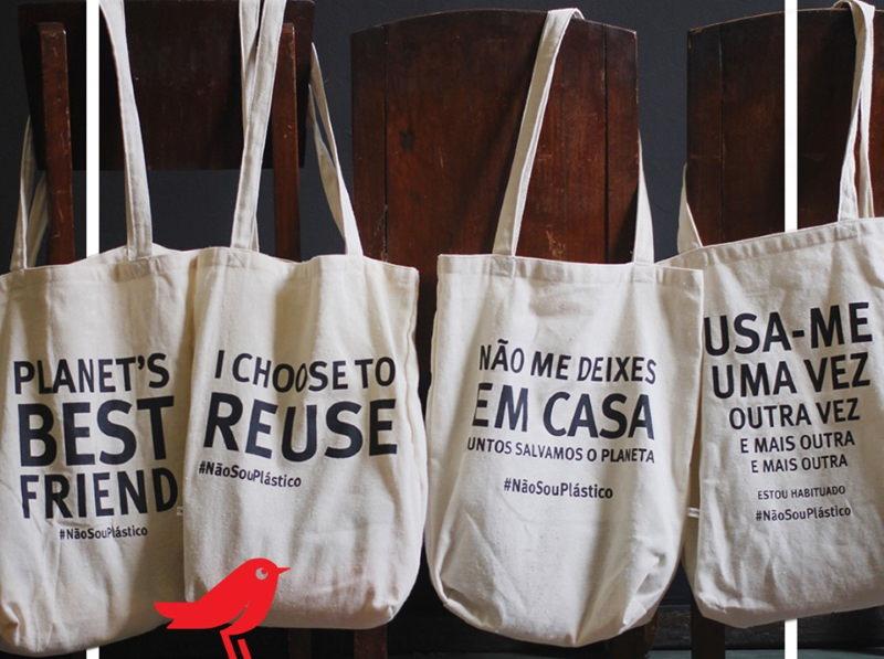 Auchan lança sacos de compras mais ecológicos para usar e reusar