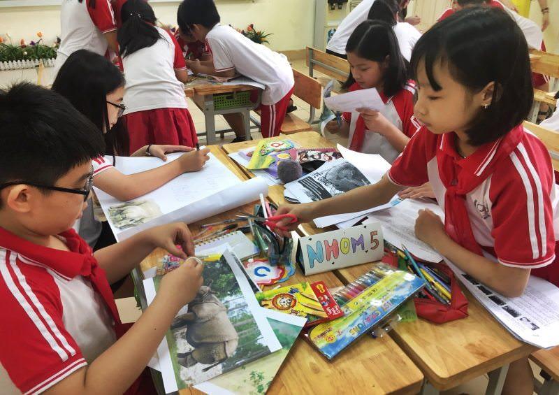 Escolas do Vietname vão dar aulas sobre espécies ameaçadas a milhões de crianças