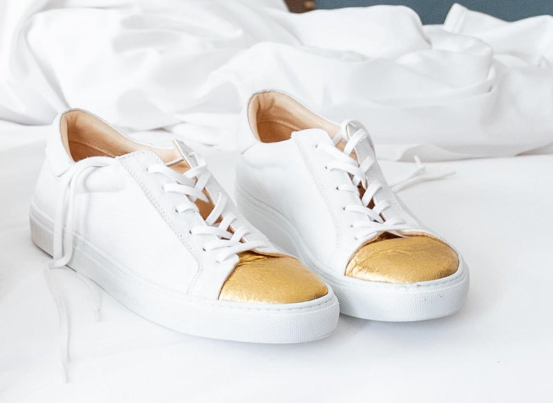 Ana Rita Clara apresenta coleção de sneakers sustentáveis