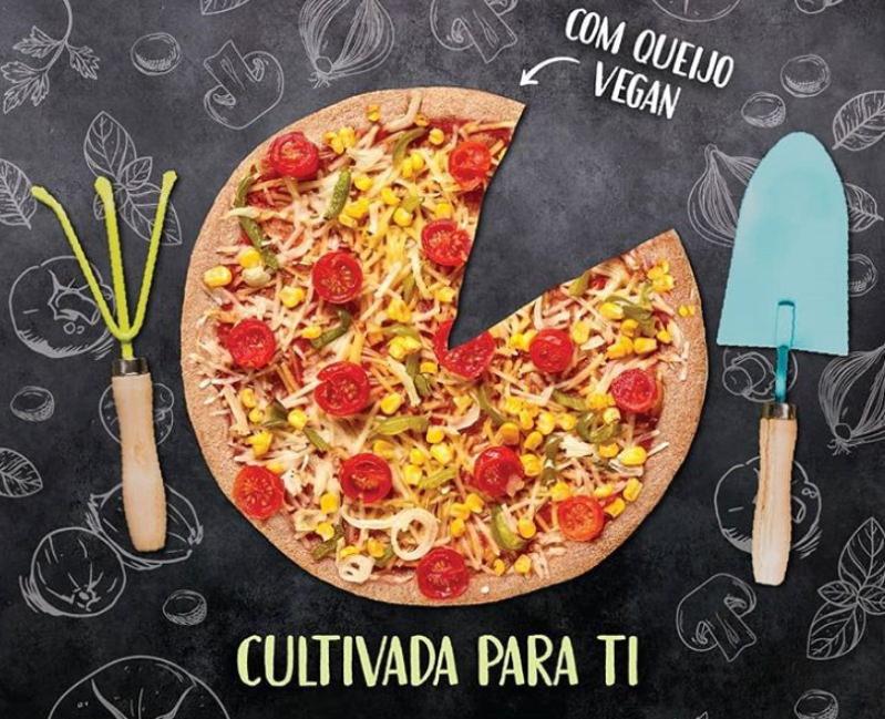 Telepizza lança pizza vegan