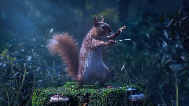 Animais da floresta cantam ópera de Bellini nesta encantadora curta de animação