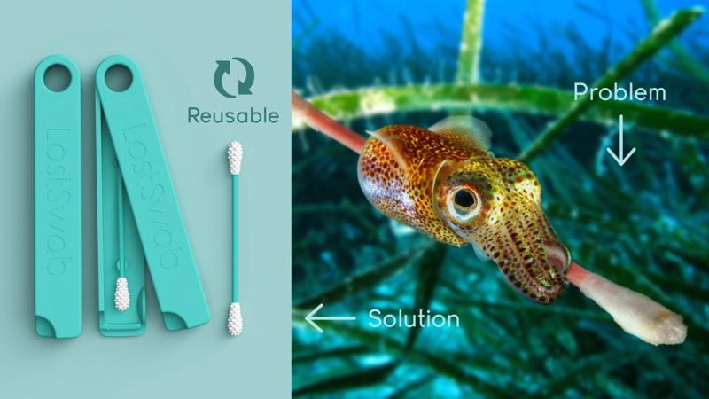 LastSwab: as cotonetes reutilizáveis