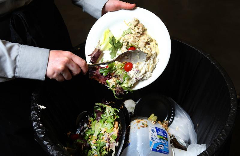 Em Vermont vai ser proibido enviar restos de comida para o aterro